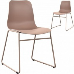 Lot de 2 chaises design 81...