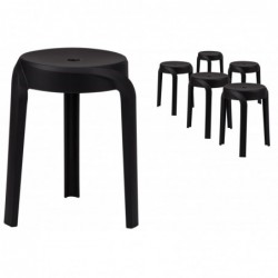 Lot de 6 tabourets design...